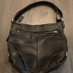 Leather Hobo Coach Bag